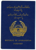Republic of Afghanistan. Passport