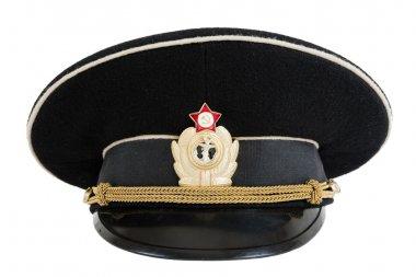 Russian navy service (peak) cap