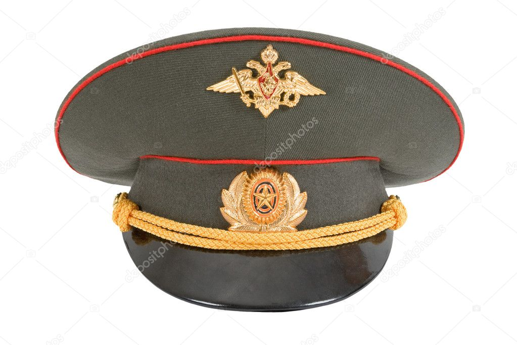 4dbcf0797 Russian Military Officer Cap — Stock Photo © blinow61 #2264110