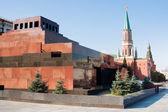 mauzoleum na Rudém náměstí v Moskvě