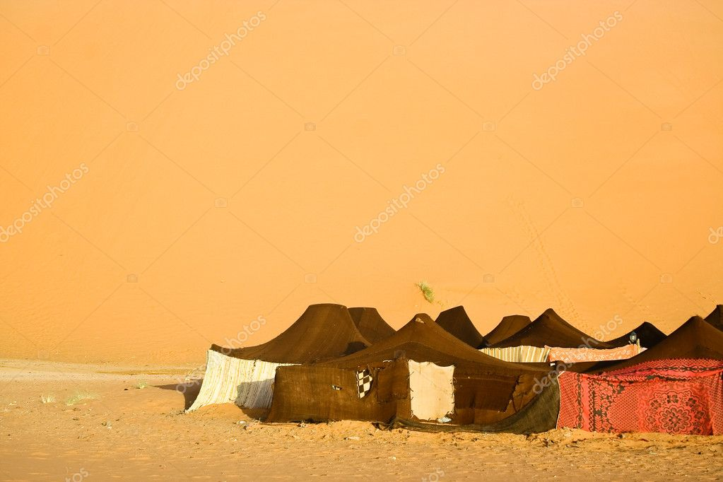 Moroccan desert dune background