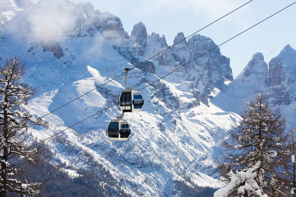 Ski resort Madonna di Campiglio