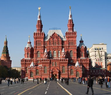 Historical Museum, Red Square, Moscow