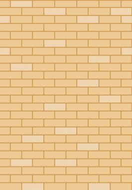 Brick wall, vector illustration