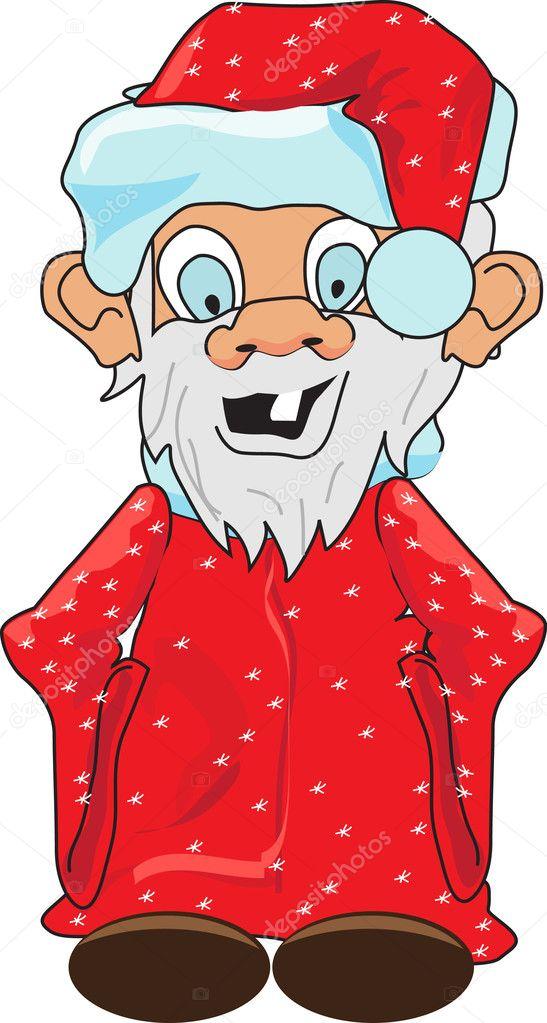 Картинка смешной дед рисунок