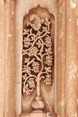 Fotografia floreale intaglio su ishak pasha palace, tu