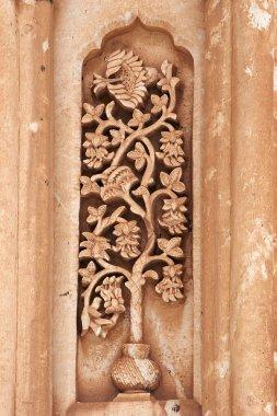 Floral carving on Ishak Pasha Palace, Tu