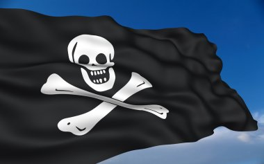Pirate flag. Jolly Roger