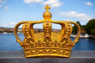 Royal crown in Stockholm.