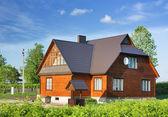 vidéki ház, házikó