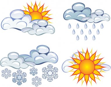 Symbols of the weather