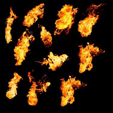 Flame samples