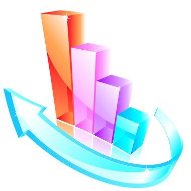 3d glass graph