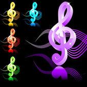 Hrajte Music symbol houslový