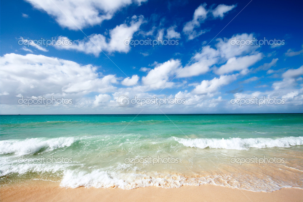 Фотообои Beautiful beach and sea