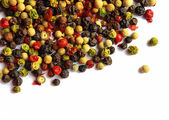 Various kinds of pepper