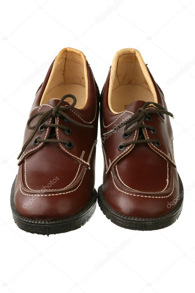 origineel nieuwste ontwerp nieuwe foto's Ouderwetse vrouwelijke schoenen — Stockfoto © winiki #1428277