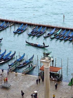 San Marco gondolas. Venice, Italy