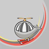 Fotografia piccolo elicottero divertente