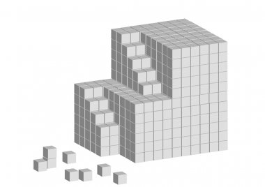Cube ladder