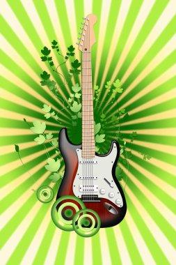 Electro- guitar