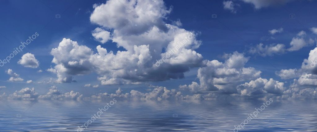 Sea & sky background