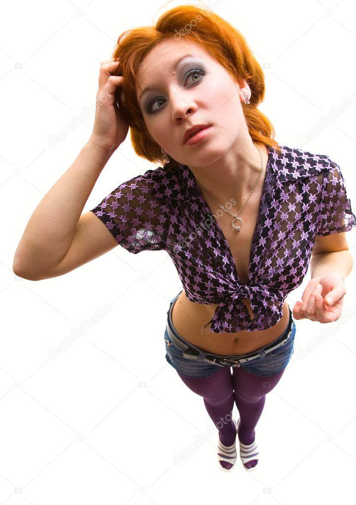 уловил взгляд на женщину снизу вверх фото чувствуя себе