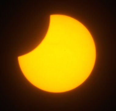 Solar eclipse for a background