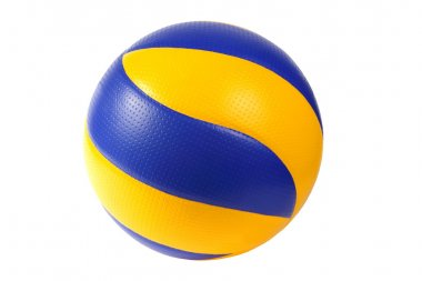 Volley-ball ball. (isolated)