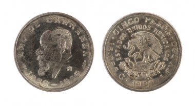 Old mexican coin