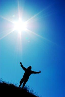 Worship to sun