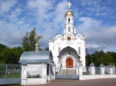 Orthodox russian church