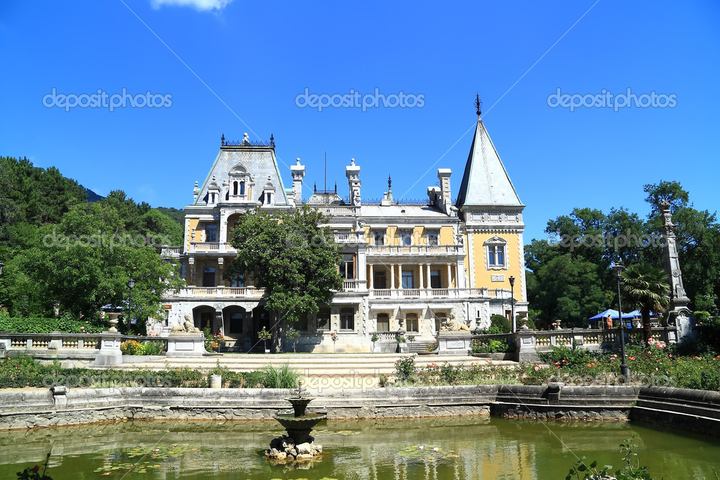 Old palace in the Crimea