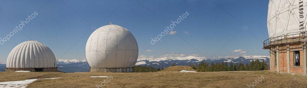 Radar in mountain