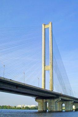 South Bridge in Kyiv, Ukraine