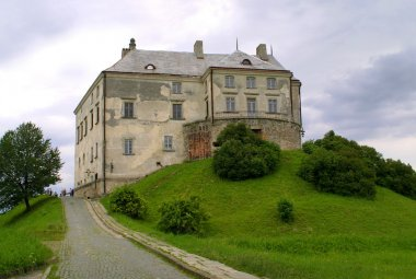 The Middle Ages castle