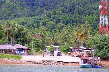 Pier on Koh Chang island
