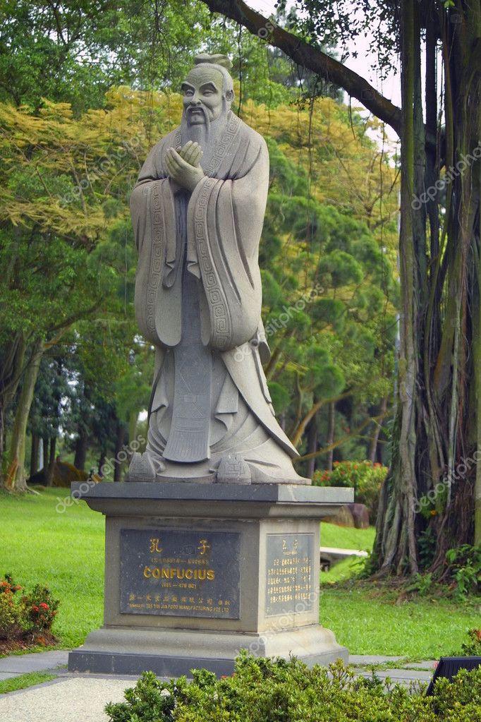 Monument of Confucius in Singapore