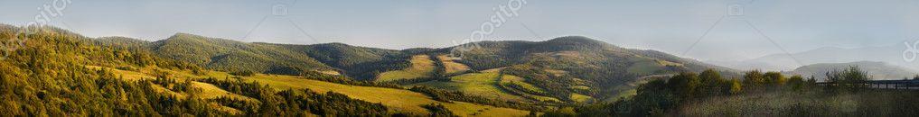 Panorama of Carpathians