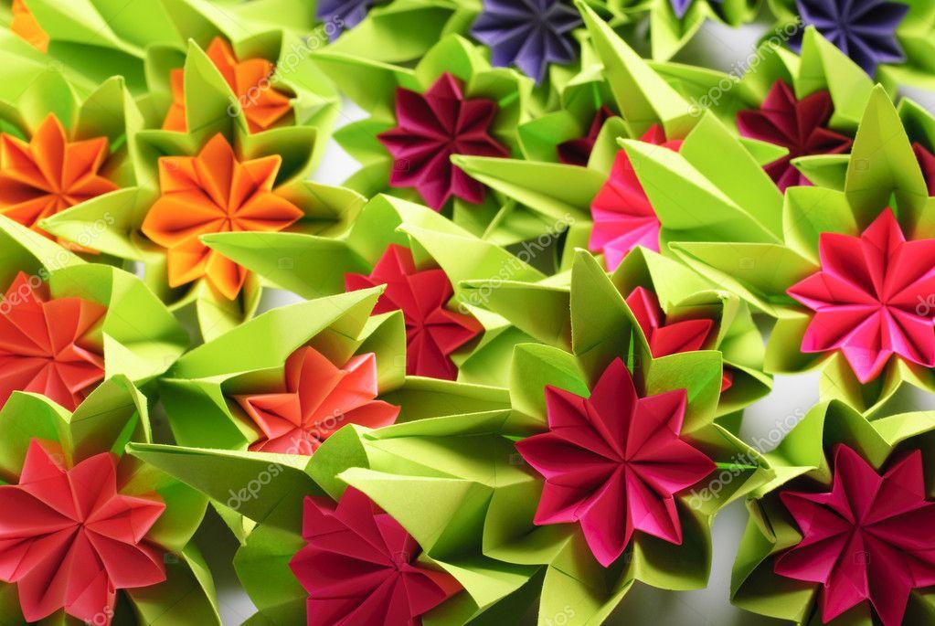 Origami Bos Stockfoto Oksixx 2308362