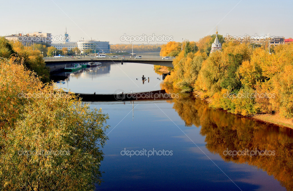 Russia, the city of Omsk in Western Siberia