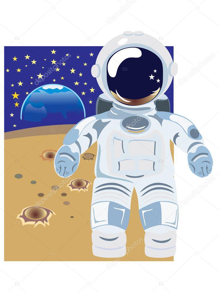 Astronaut Vector Illus...