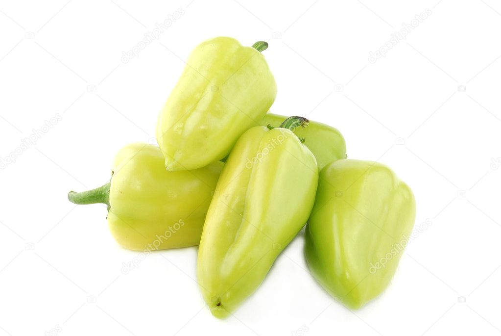 Green sweet pepper