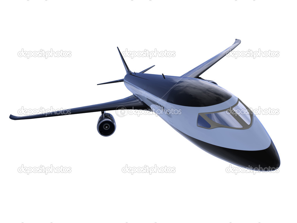 Обои вид, двигатели, Самолёт, сзади, чёрный. Авиация foto 7
