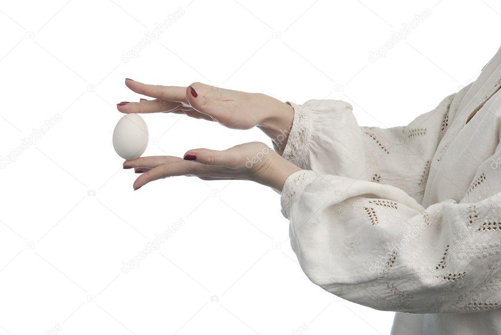 Яйца Мужчины В Руках Женщины