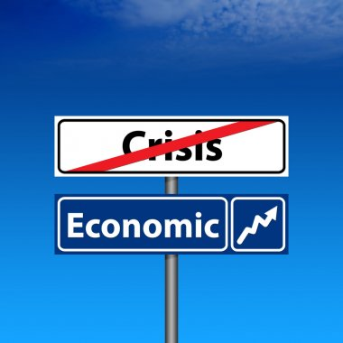 The end of crisis, economic recovery
