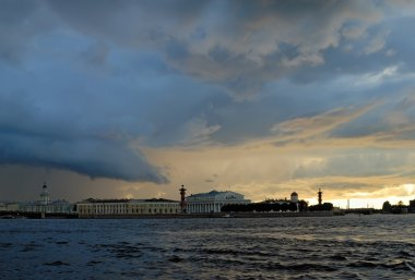Thunderclouds over Saint-Petersburg