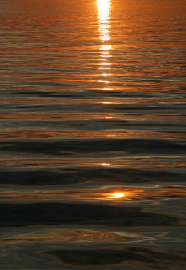 Sunset water background
