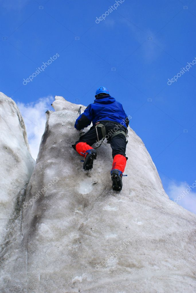 The ice trainings are in mountains