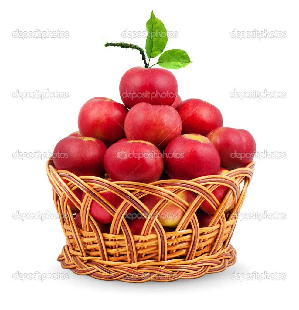 Basket of apples — Stock Photo © bloodua #1095750
